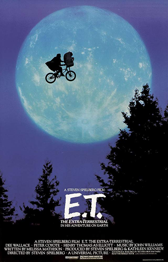 Poster for E.T. The Extra-Terrestrial
