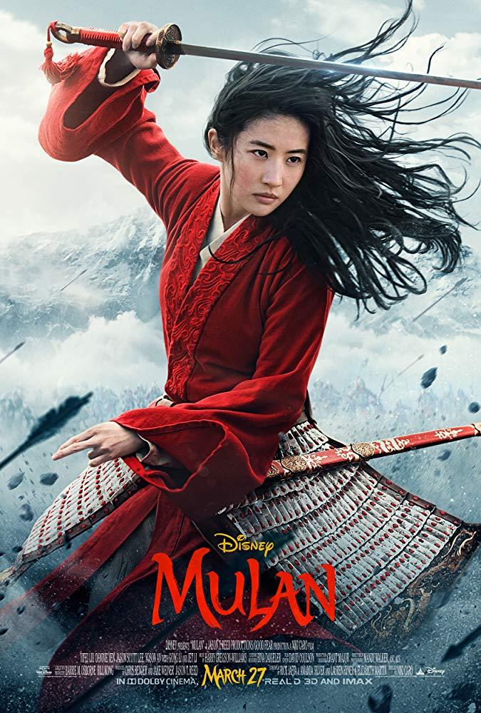 Poster for Mulan