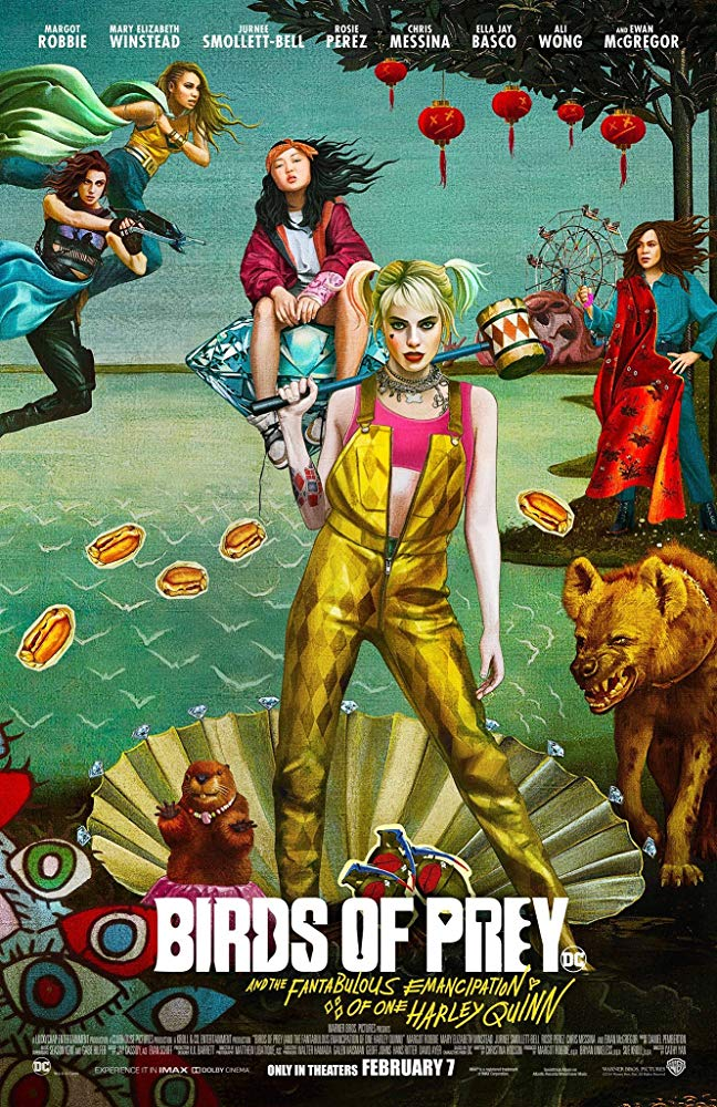 Poster for Birds of Prey: And the Fantabulous Emancipation of One Harley Quinn