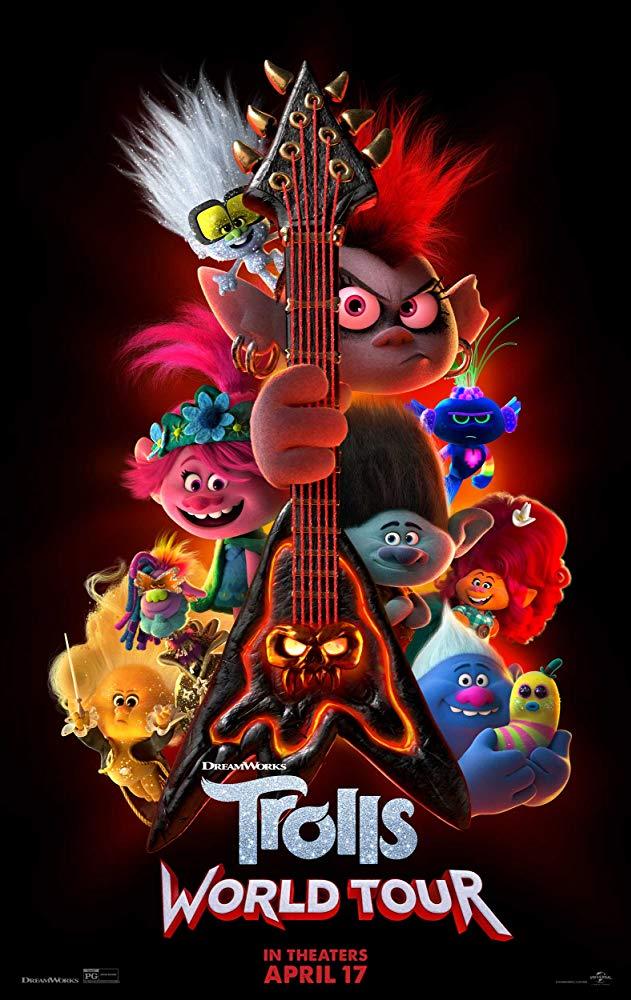 Poster for Trolls World Tour