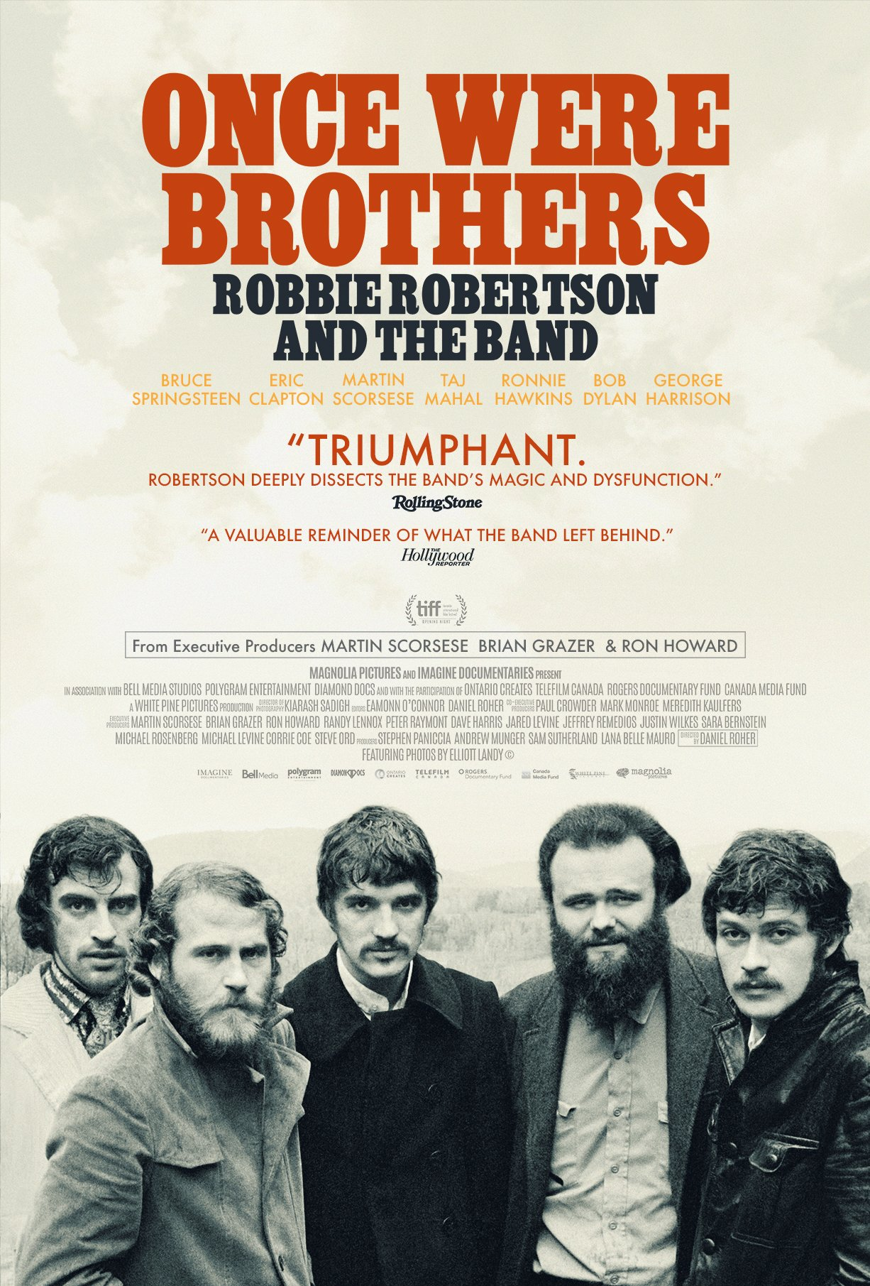 Poster for Once Were Brothers: Robbie Robertson and The Band