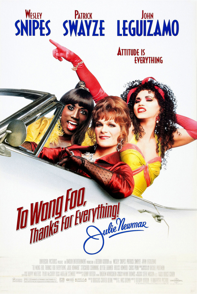 Poster for To Wong Foo, Thanks for Everything, Julie Newmar
