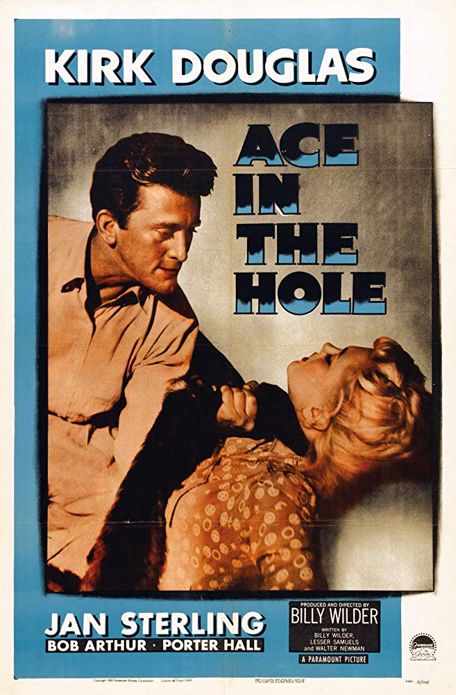 Poster for Ace in the Hole