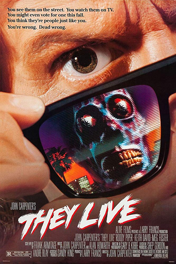 Poster for They Live