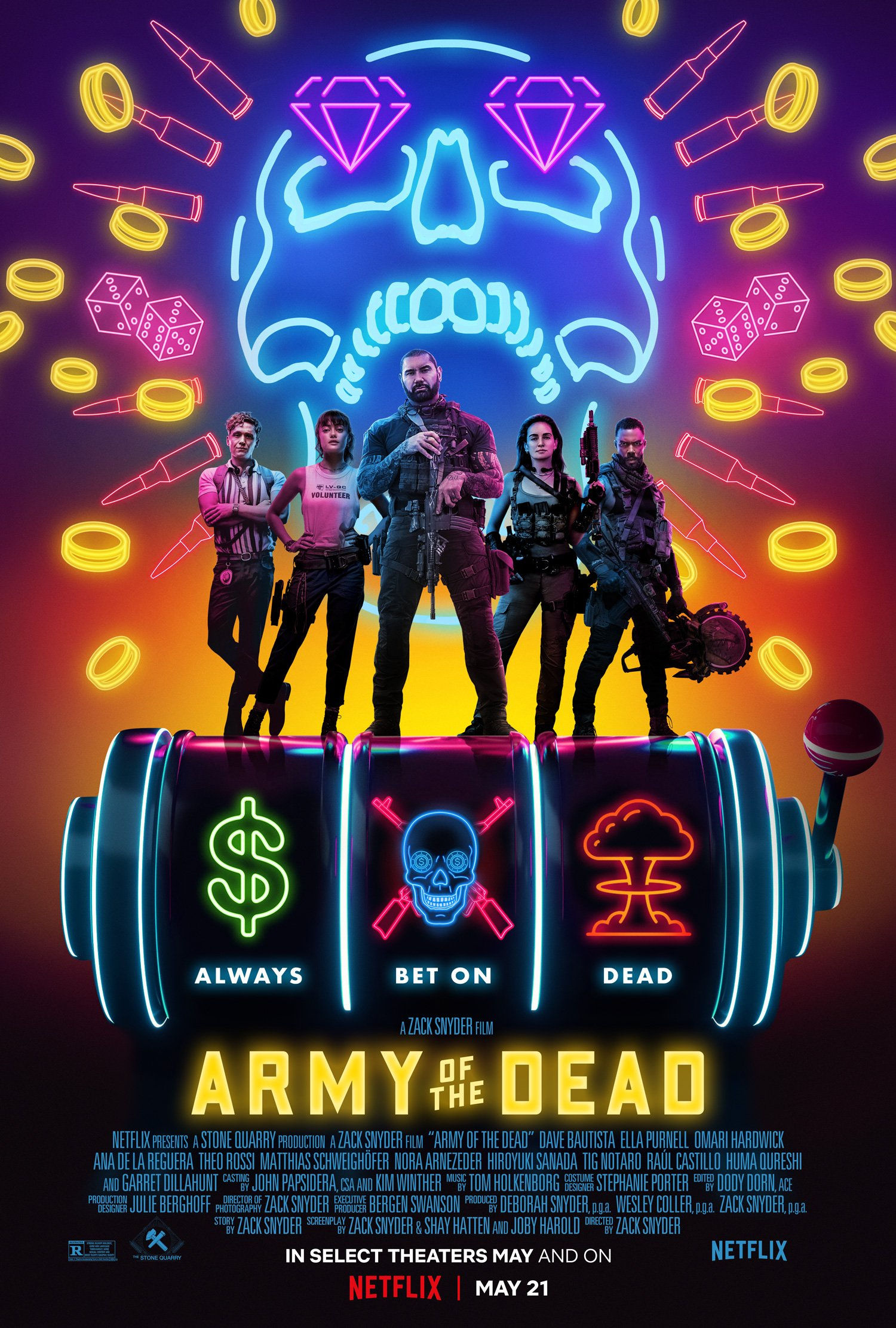 Poster for Army of the Dead