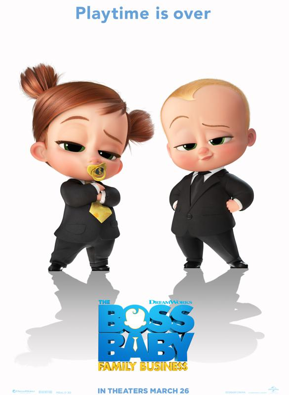 Poster for The Boss Baby: Family Business