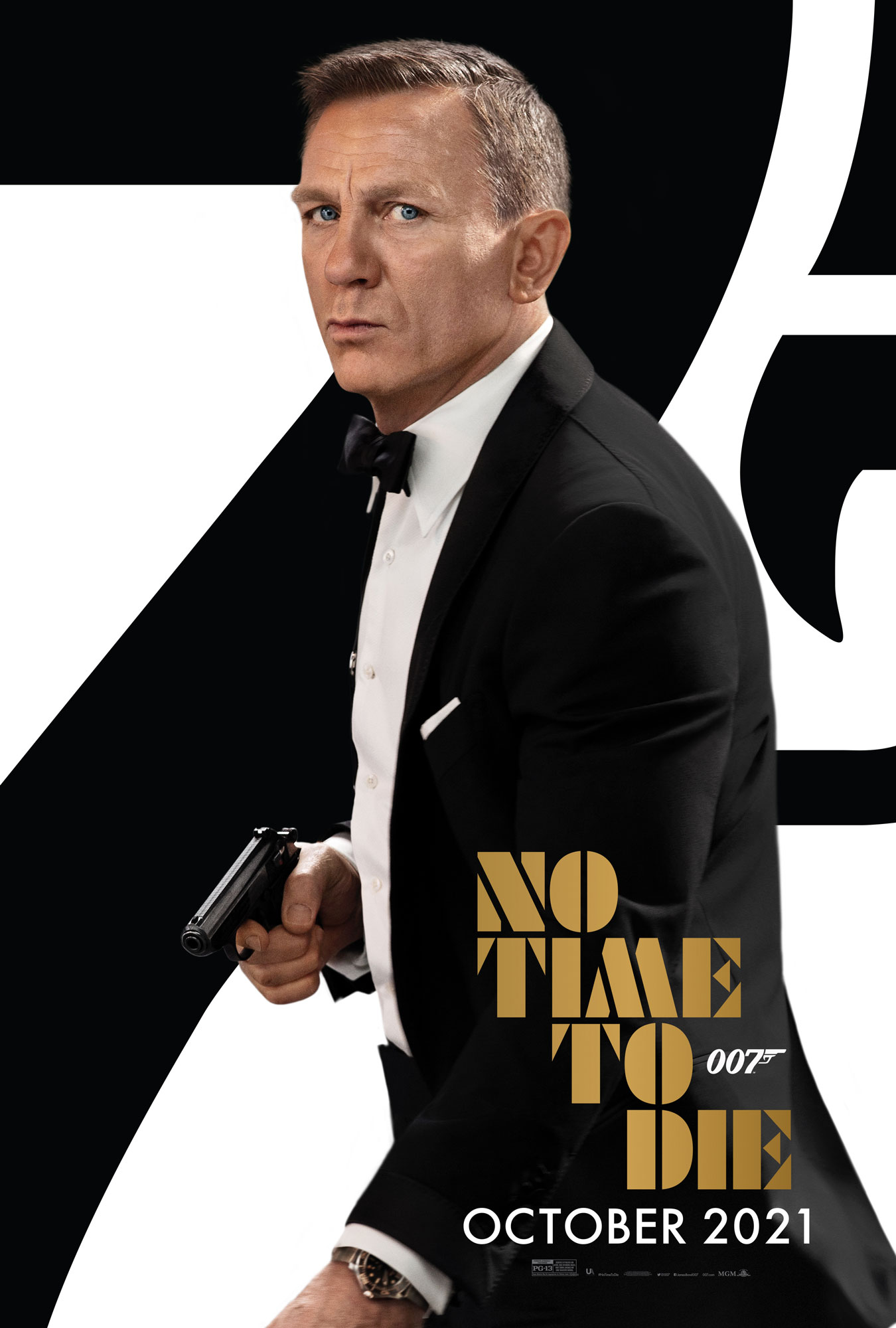 Poster for No Time To Die