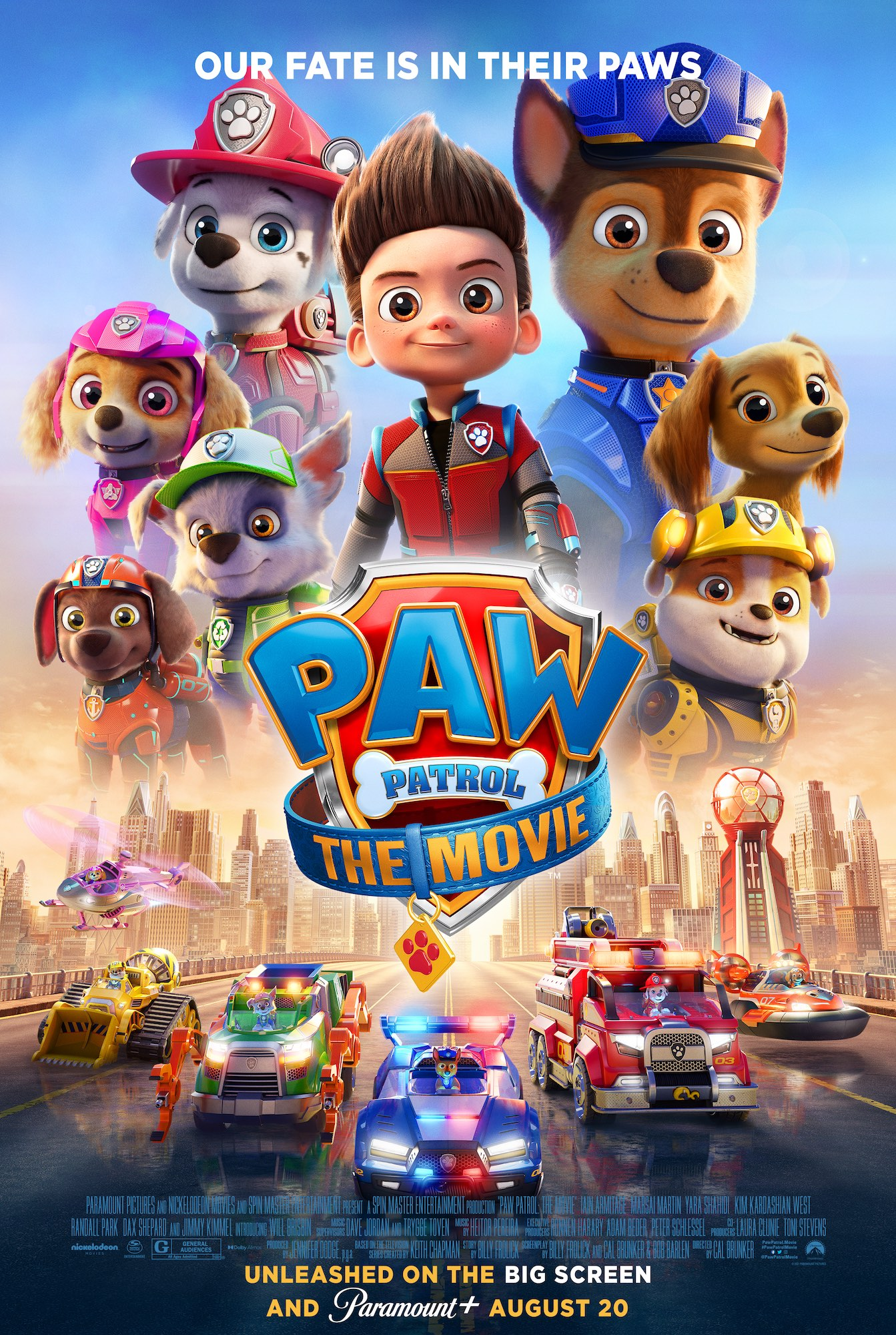 Poster for PAW Patrol: The Movie