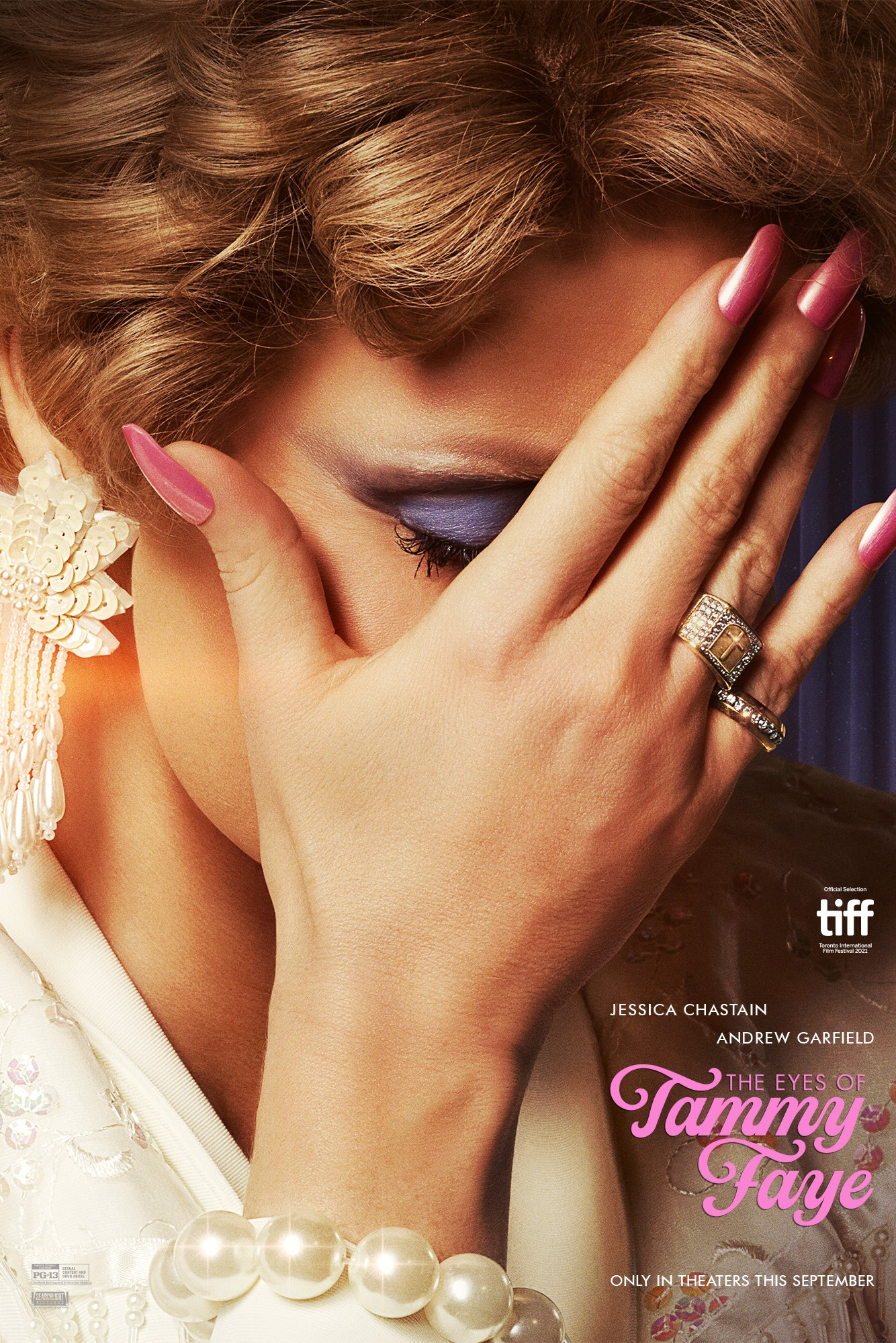 Poster for The Eyes of Tammy Faye (2021)