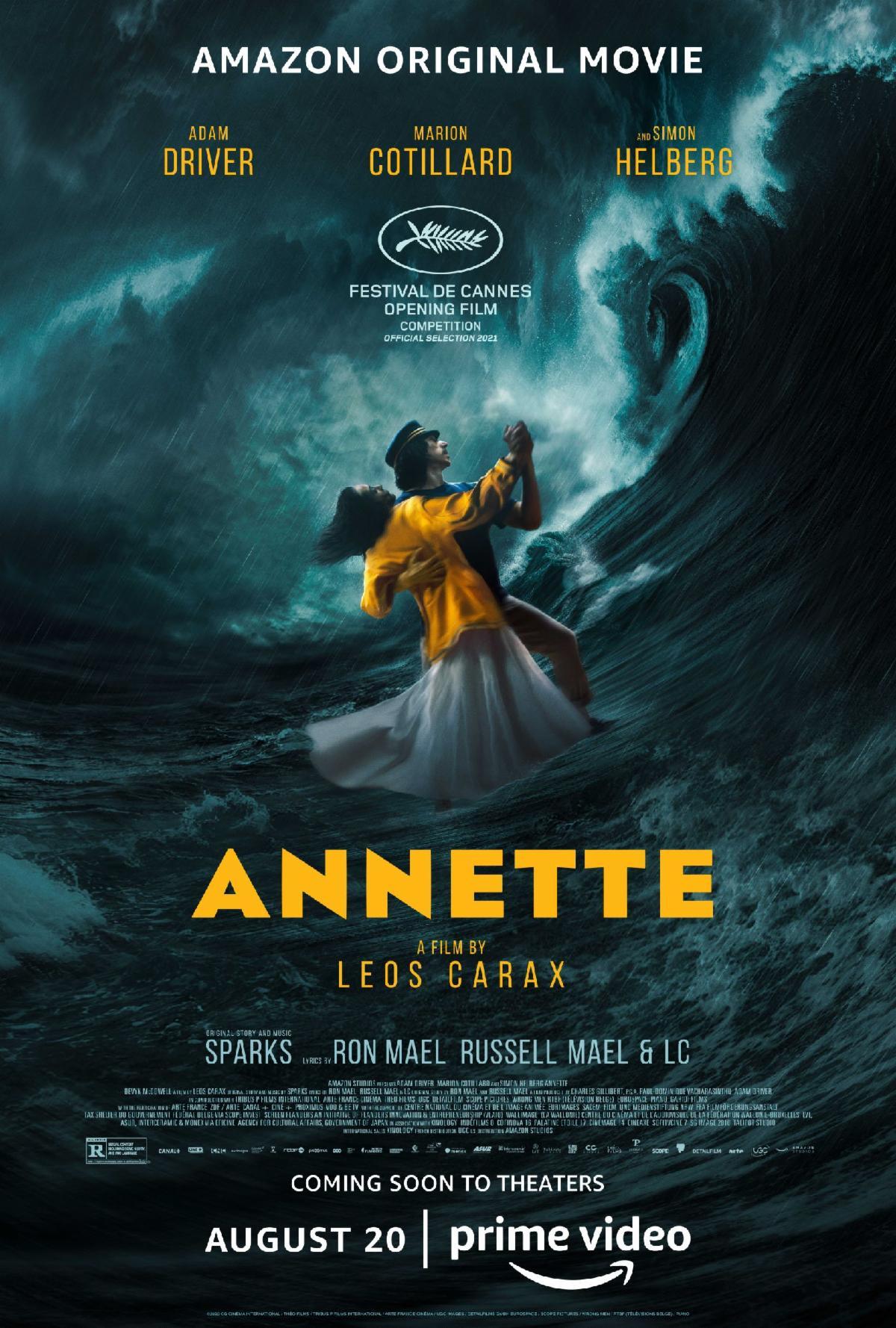 Poster for Annette