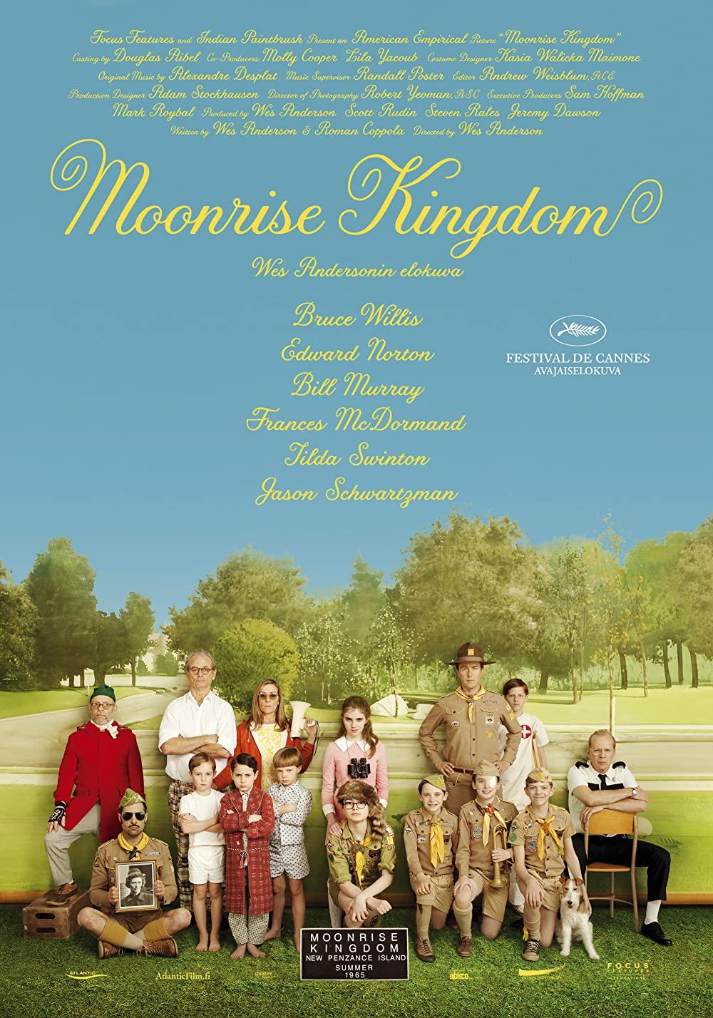 Poster for Moonrise Kingdom