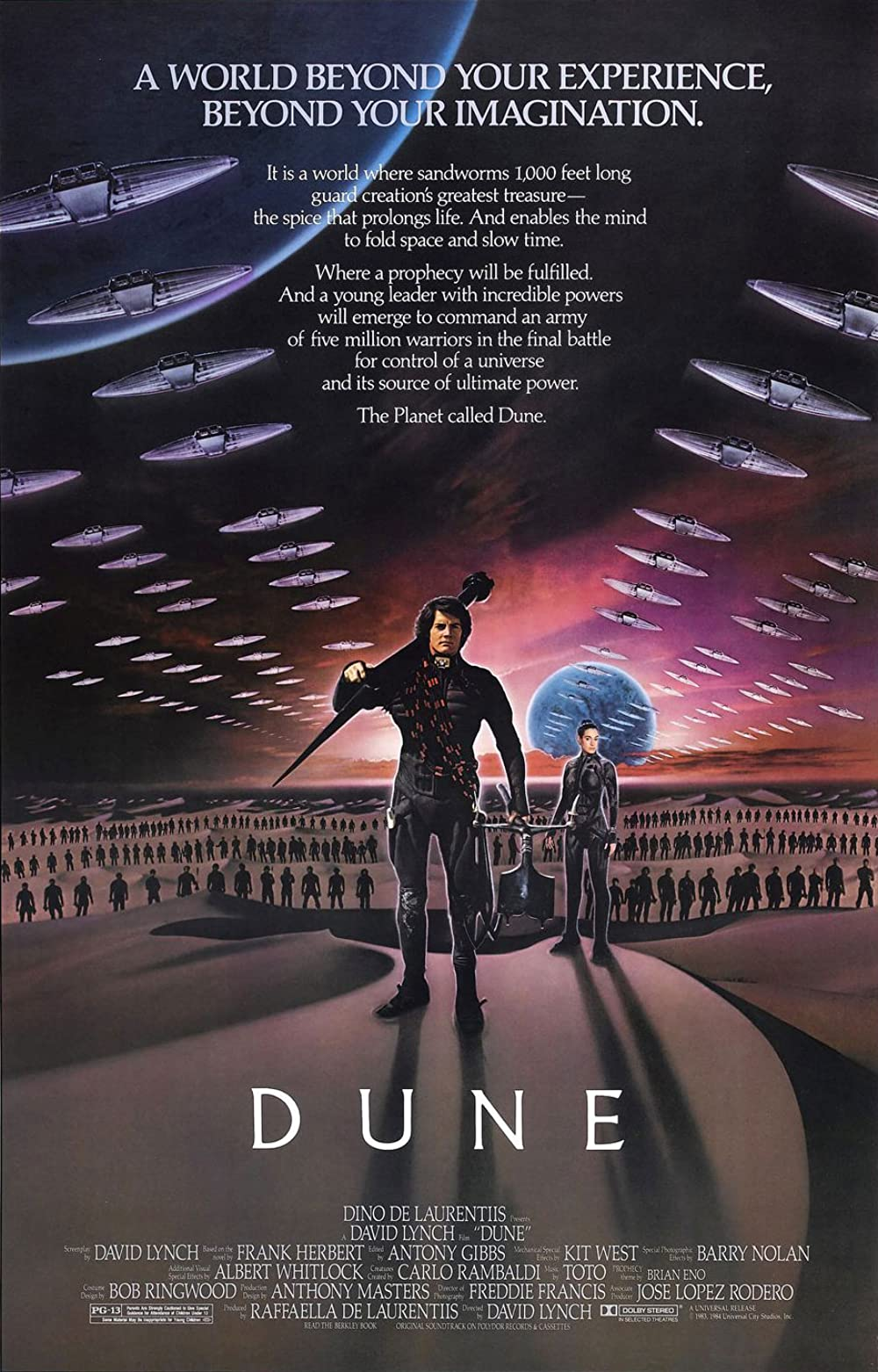 Poster for Dune (1984)