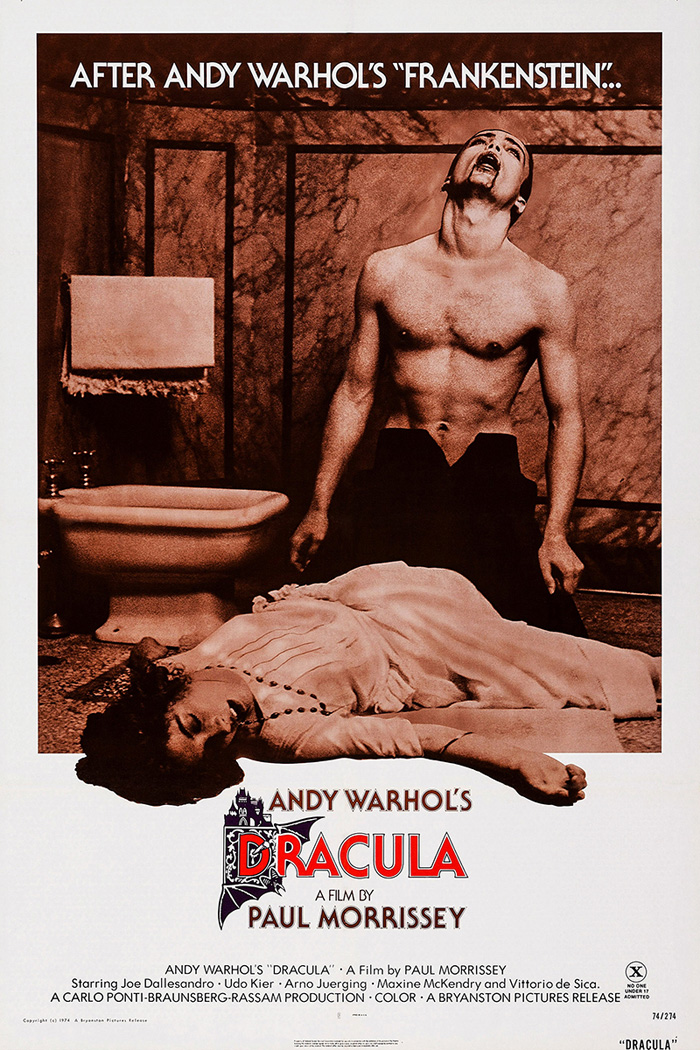 Poster for Blood for Dracula