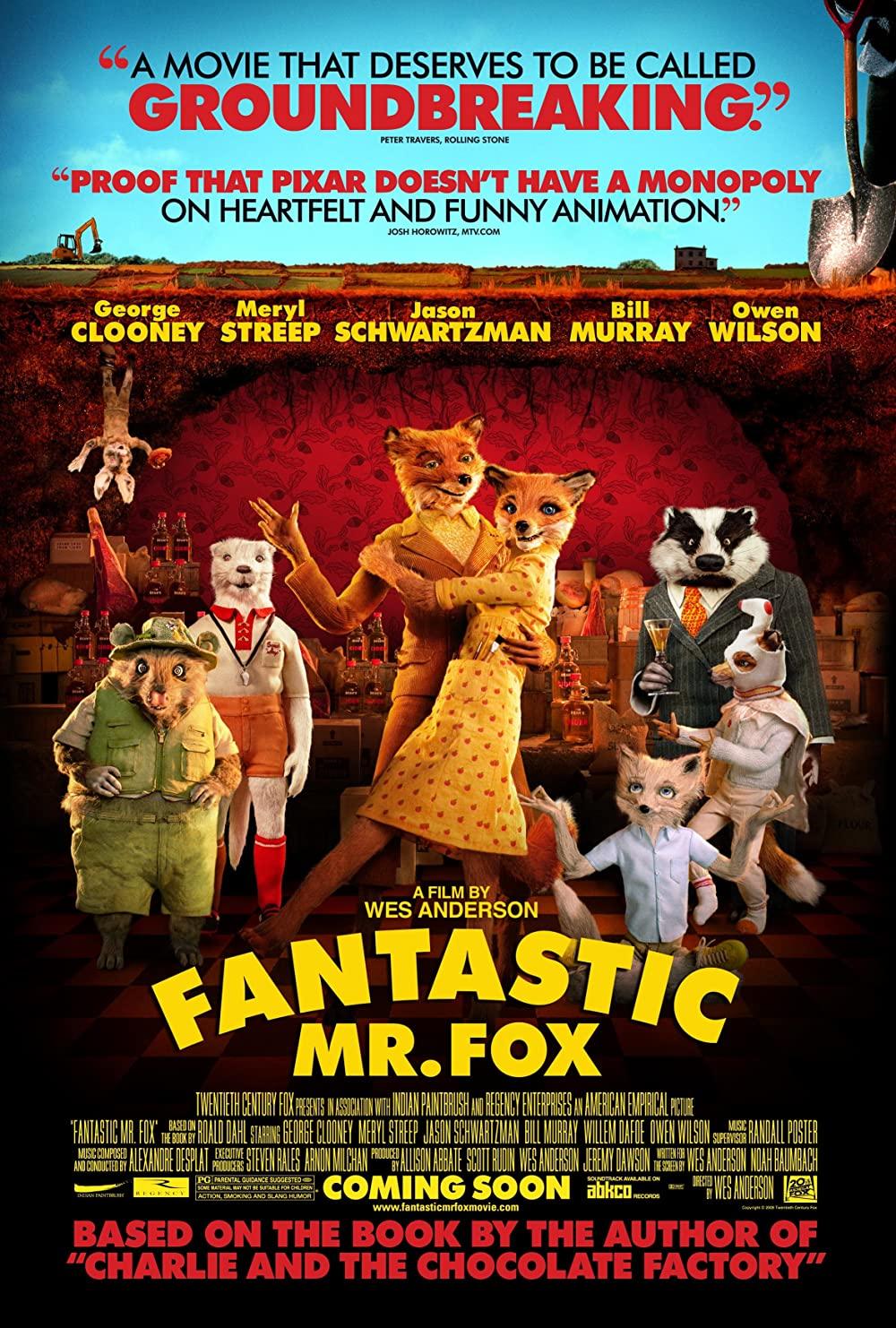 Poster for Fantastic Mr. Fox