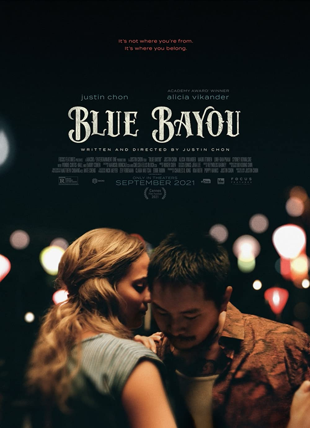 Poster for Blue Bayou