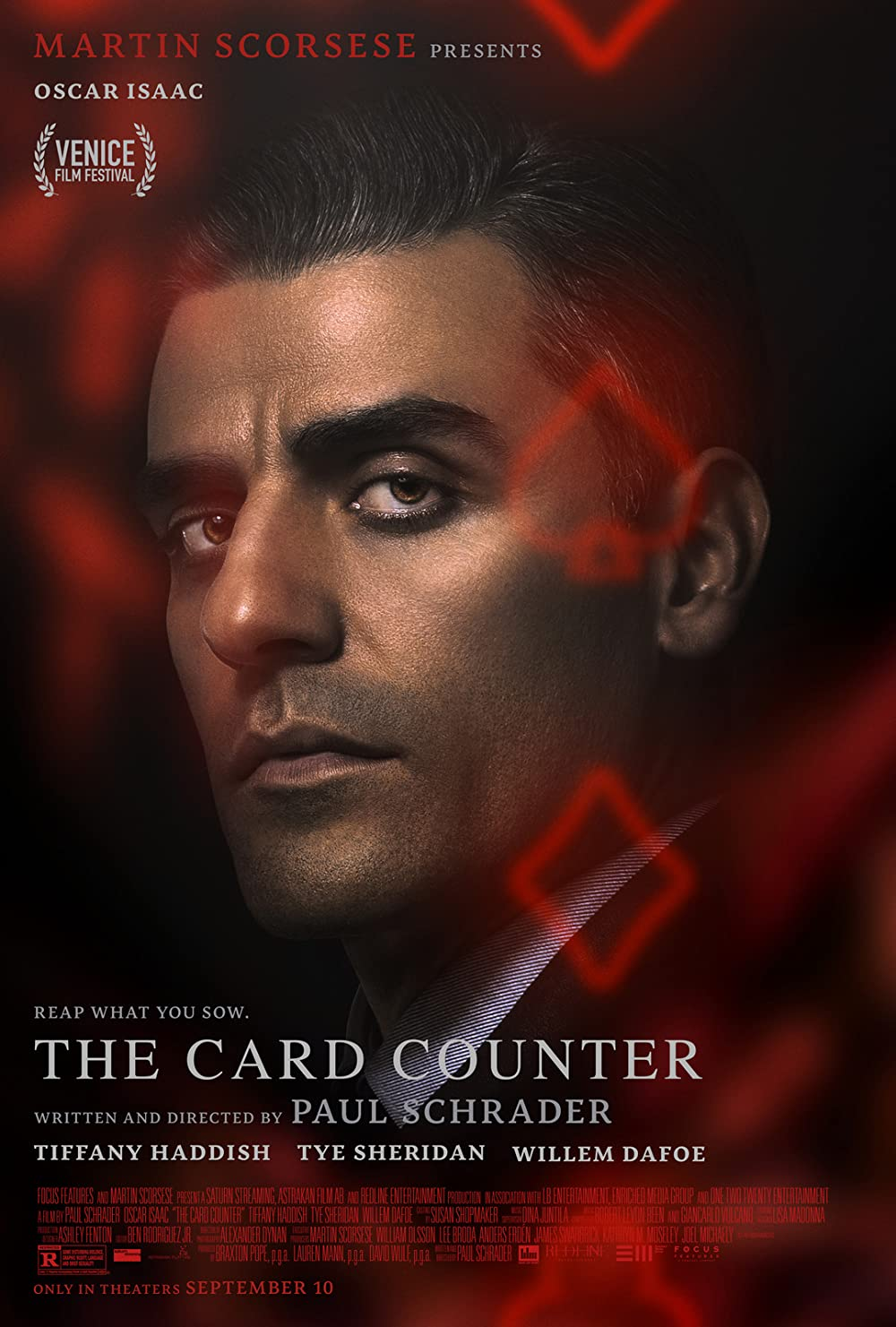 Poster for The Card Counter