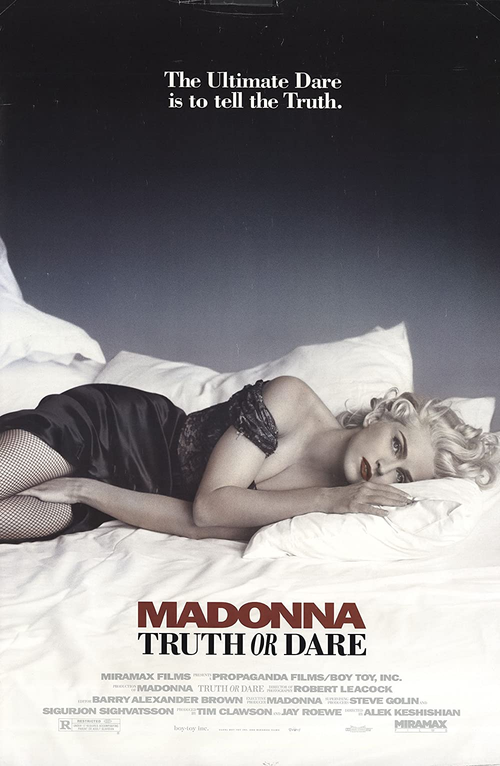 Poster for Madonna: Truth or Dare