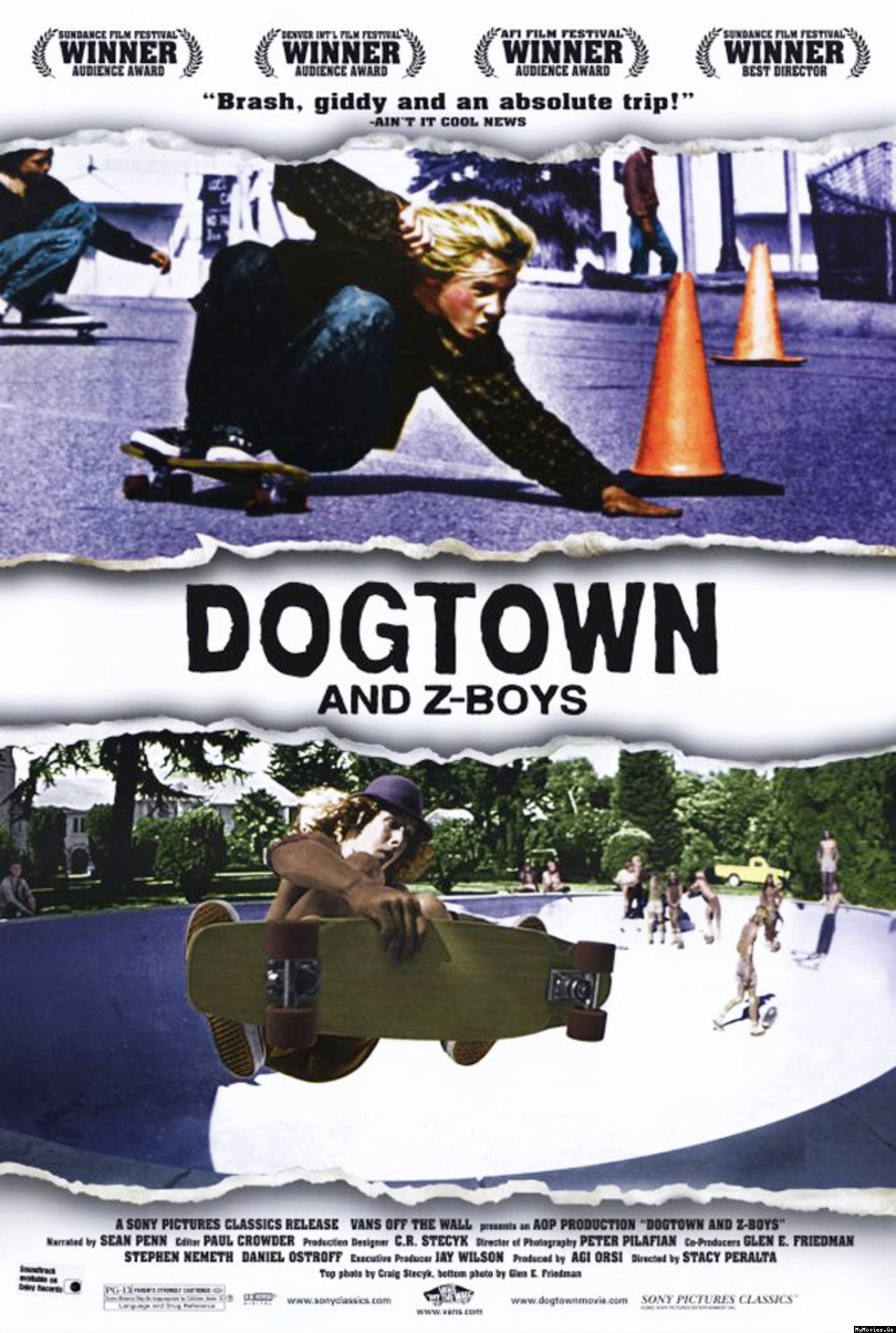 Poster for Dogtown and Z-Boys