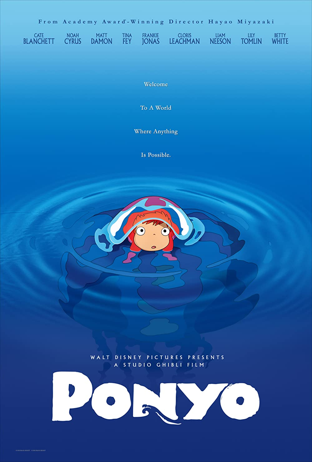 Poster for Ponyo