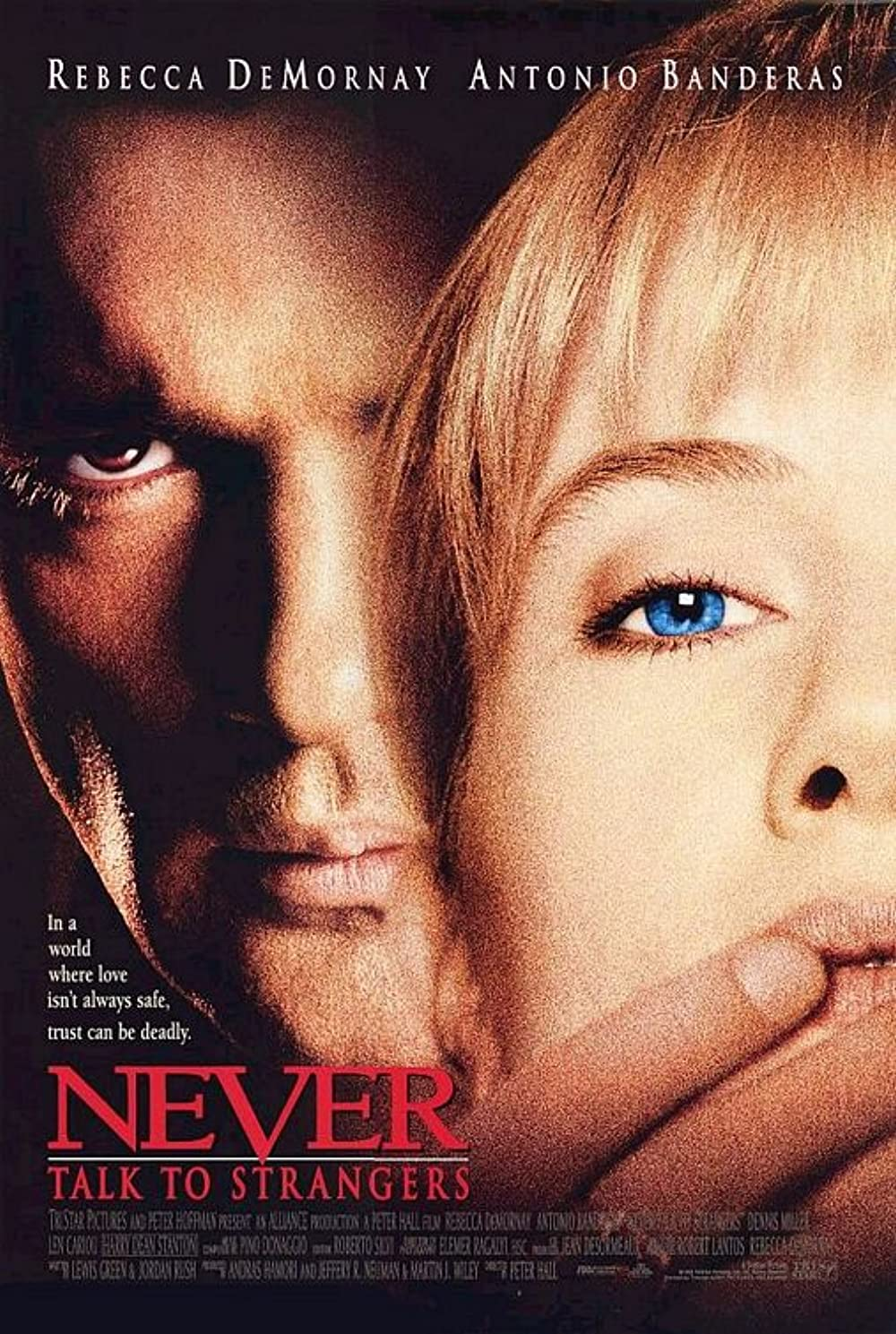 Poster for Never Talk to Strangers