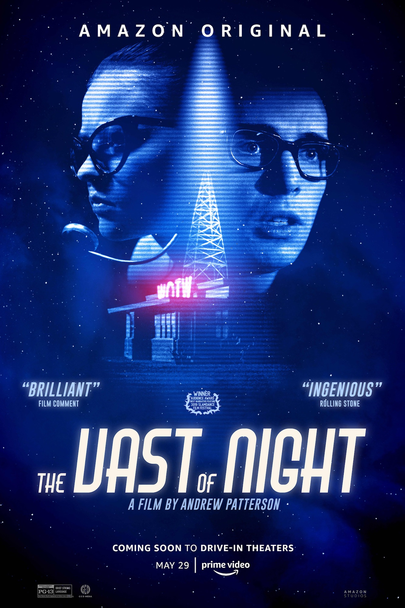 Poster for The Vast of the Night