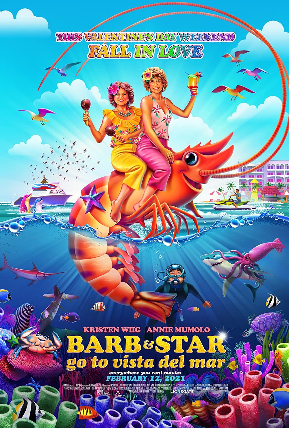 Poster for Barb & Star Go to Vista Del Mar