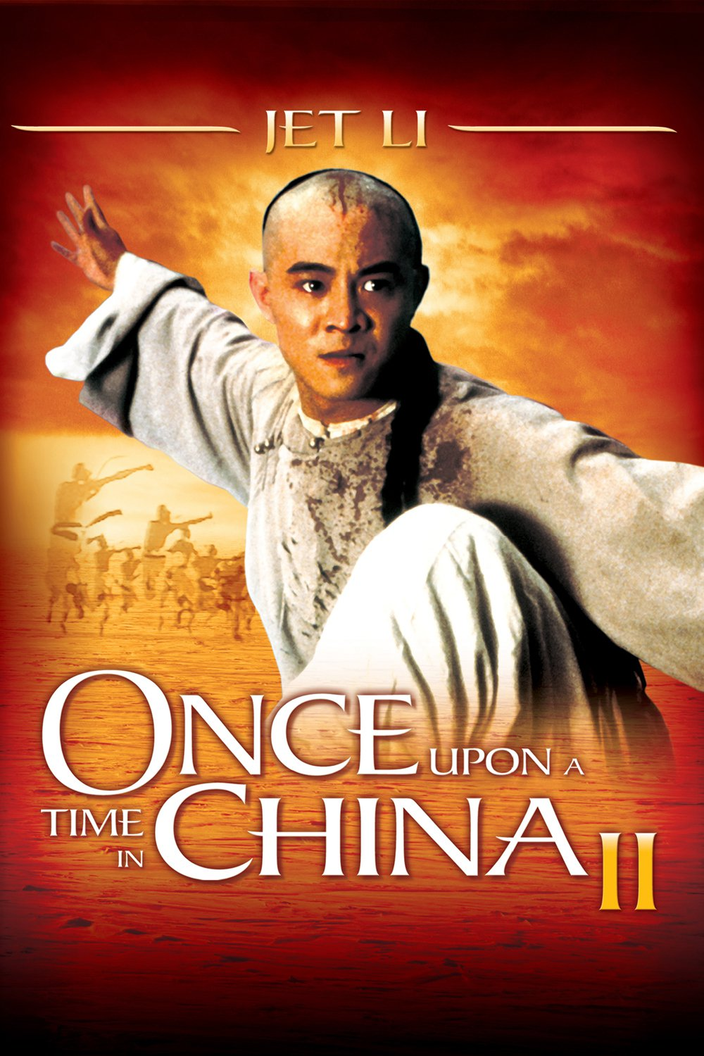 Poster for Once Upon a Time in China II
