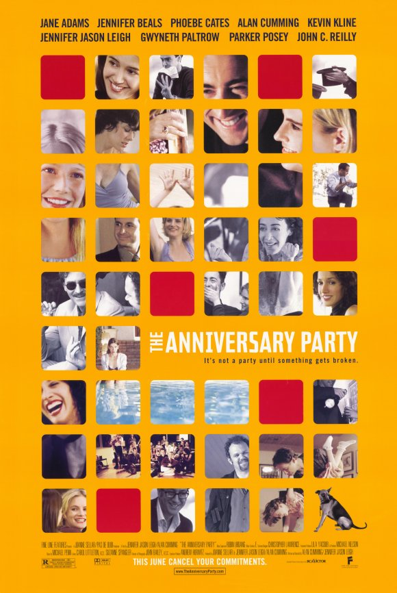 Poster for The Anniversary Party