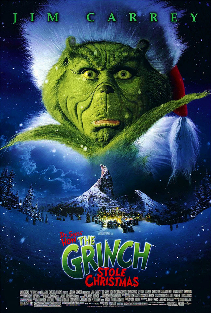Poster for How the Grinch Stole Christmas (2000)