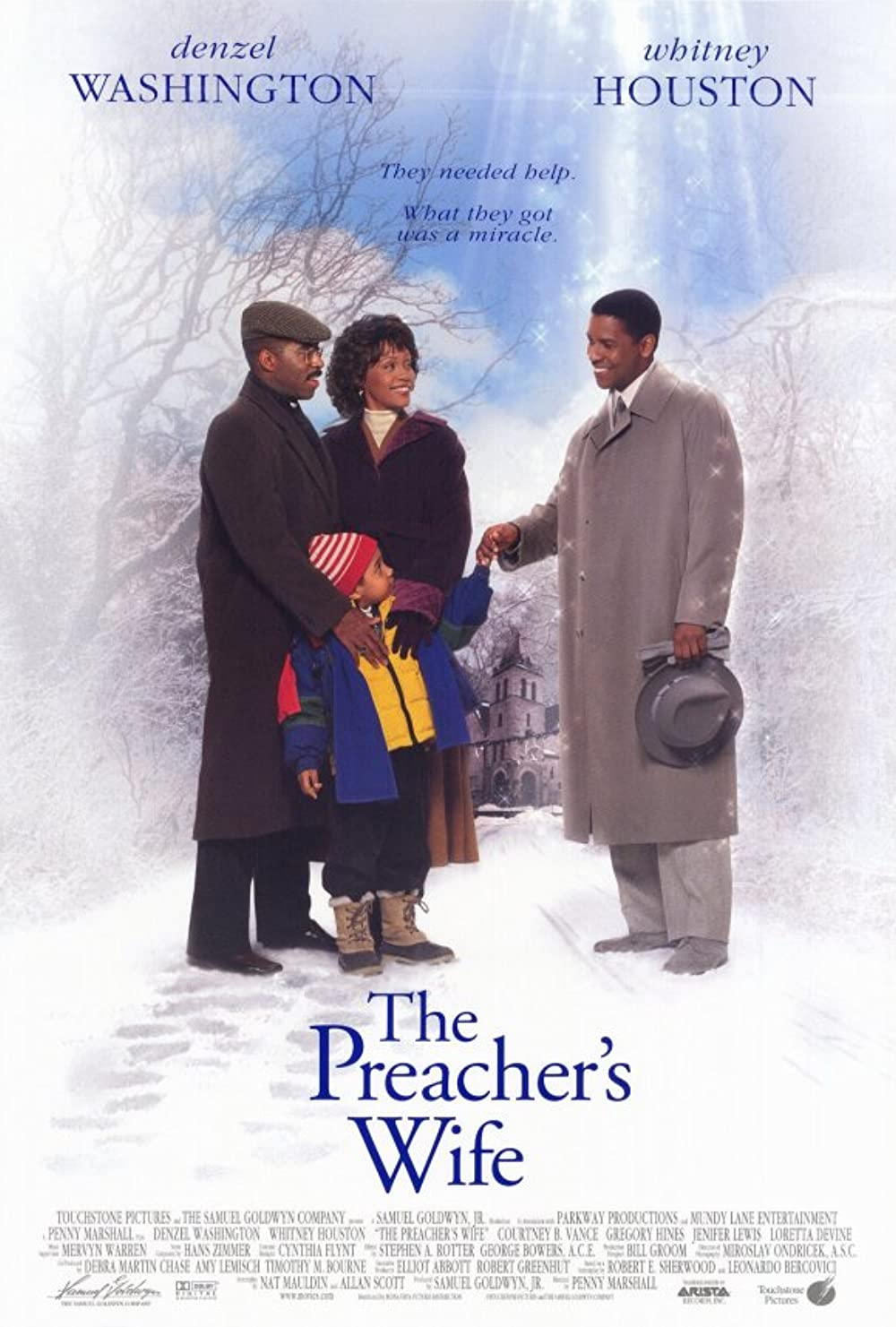 Poster for The Preacher's Wife