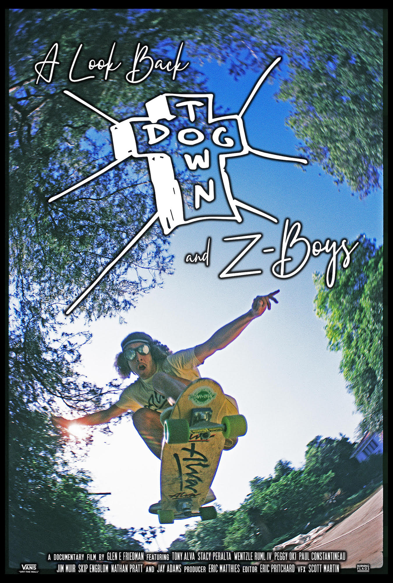 Poster for A Look Back: Dogtown and Z-Boys
