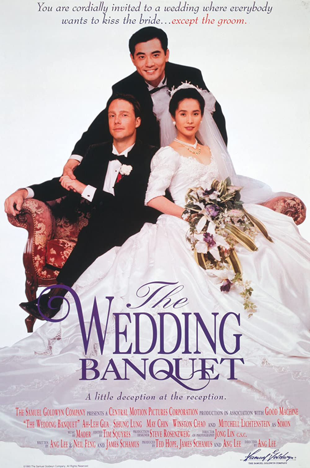 Poster for The Wedding Banquet