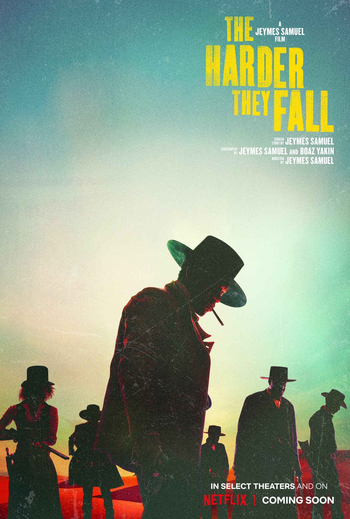 Poster for The Harder They Fall