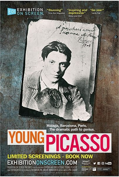 Poster for Young Picasso