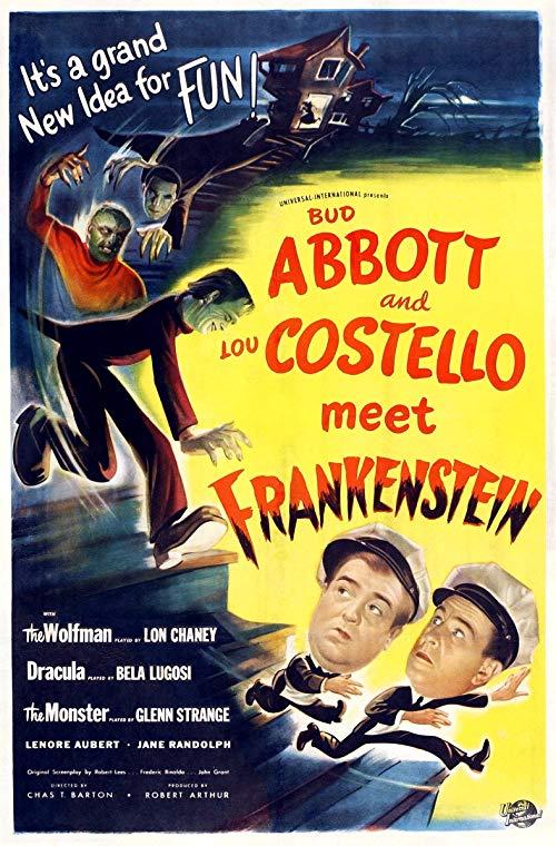 Poster for Abbott and Costello Meet Frankenstein