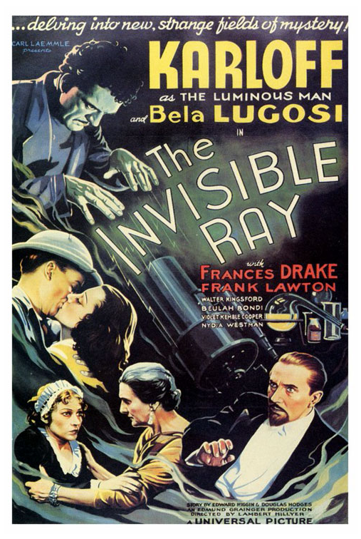 Poster for The Invisible Ray