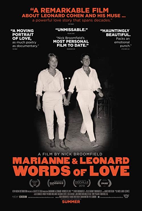 Poster for Marianne & Leonard: Words of Love