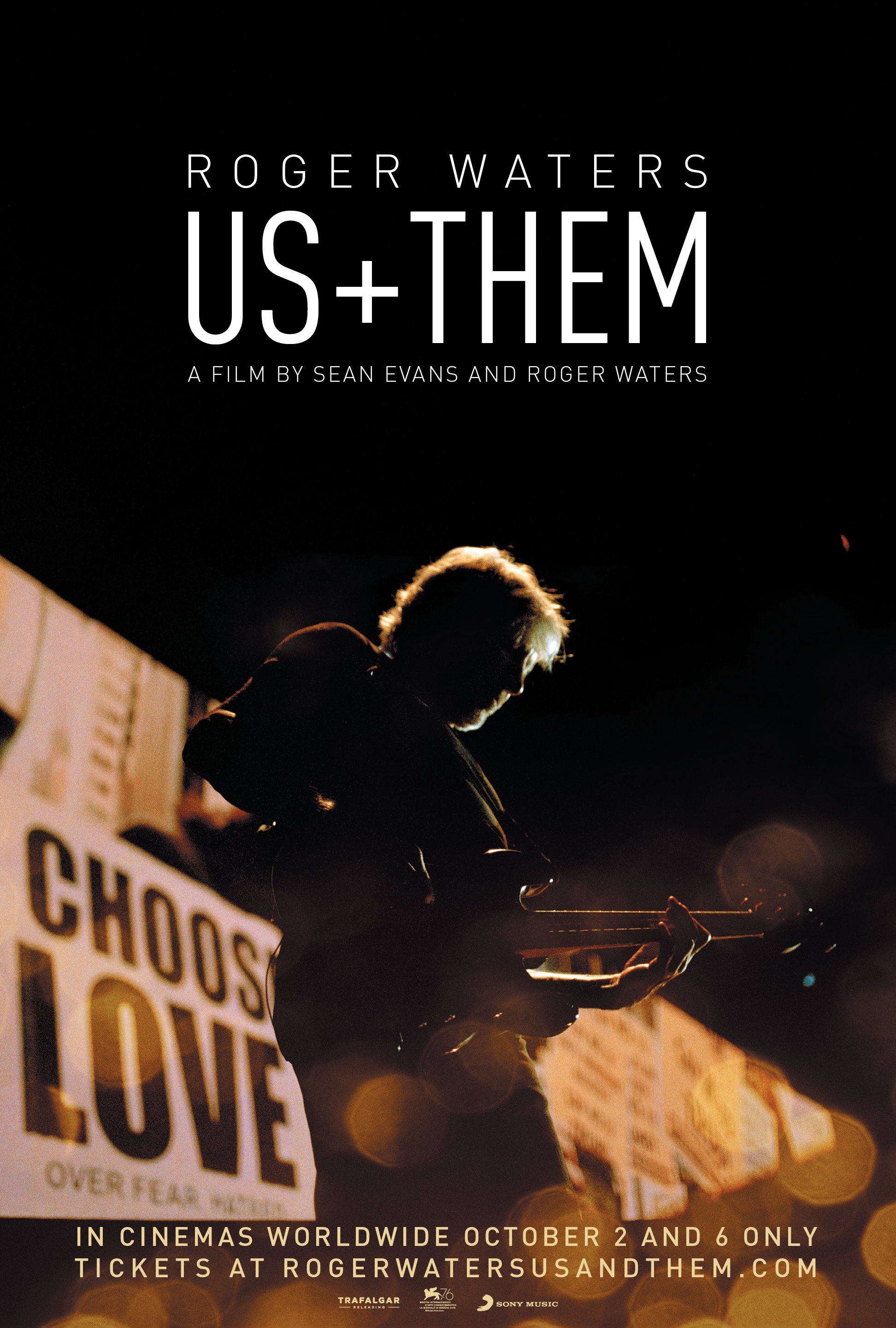 Poster for Roger Waters Us + Them