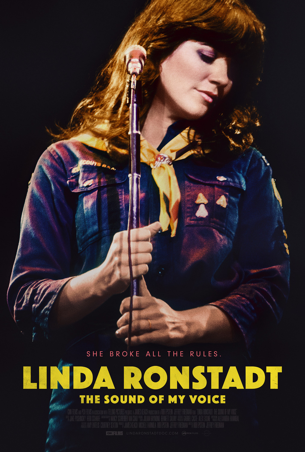 Poster for Linda Ronstadt The Sound of My Voice