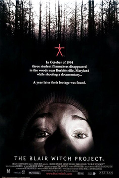 Poster for The Blair Witch Project
