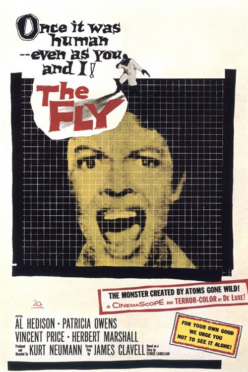 Poster for The Fly (1958)