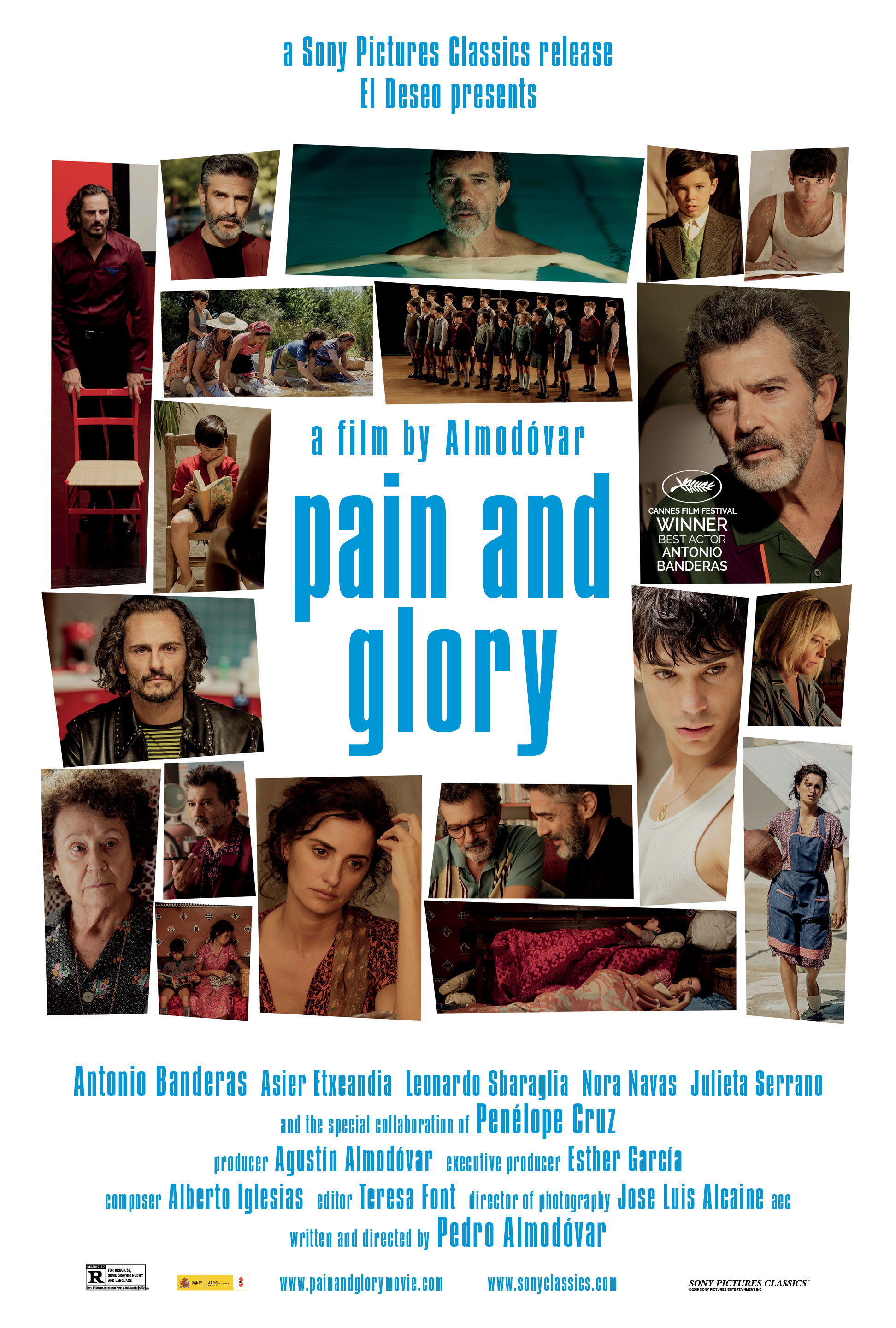 Poster for Pain and Glory
