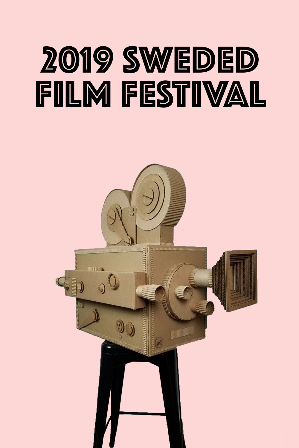 Poster for Sweded Film Festival 2019