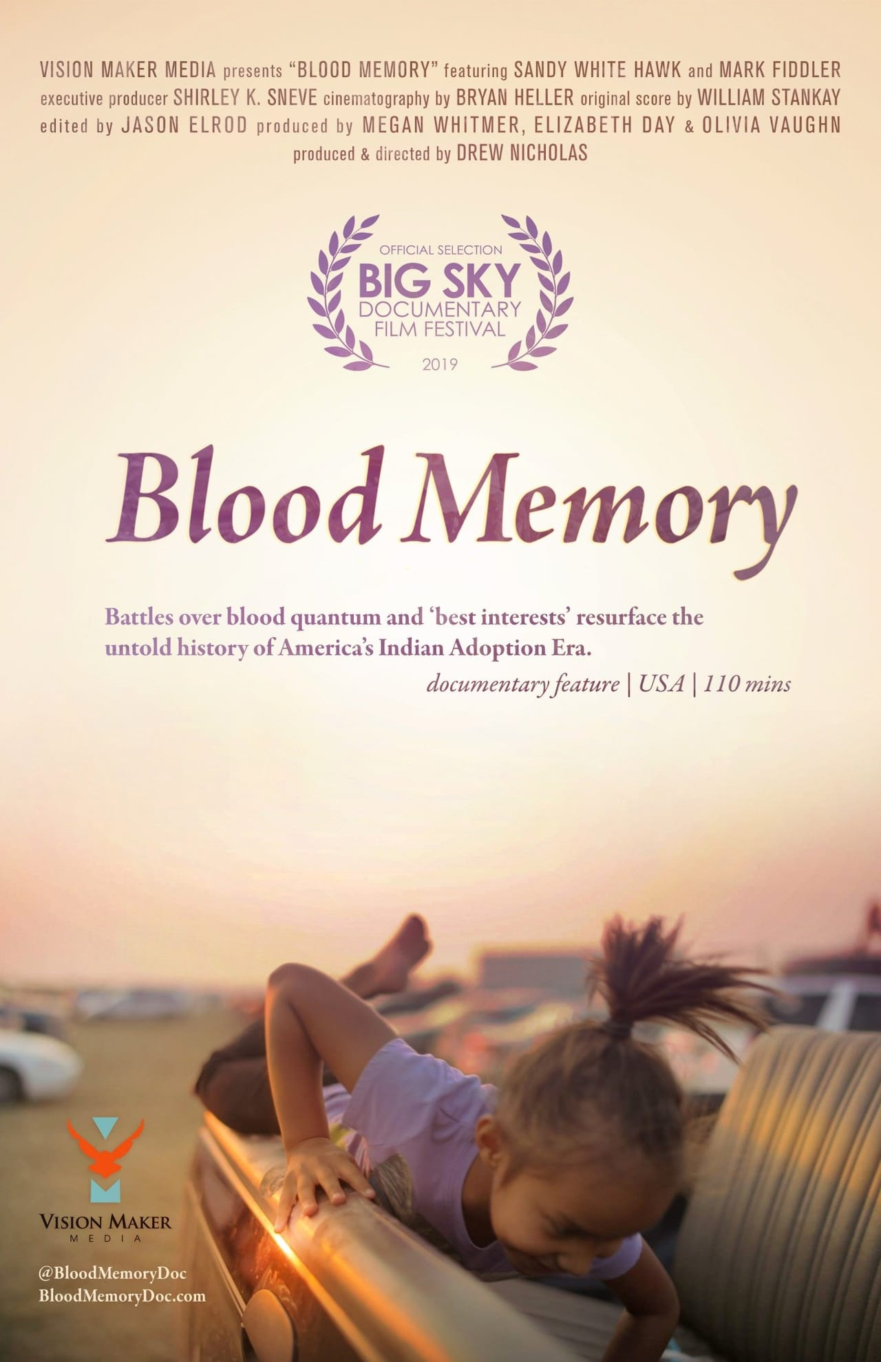 Poster for Blood Memory: A Story Of Removal And Return
