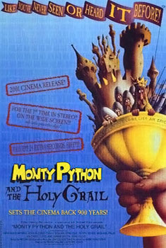 Poster for Monty Python and the Holy Grail (Coconut Night!)