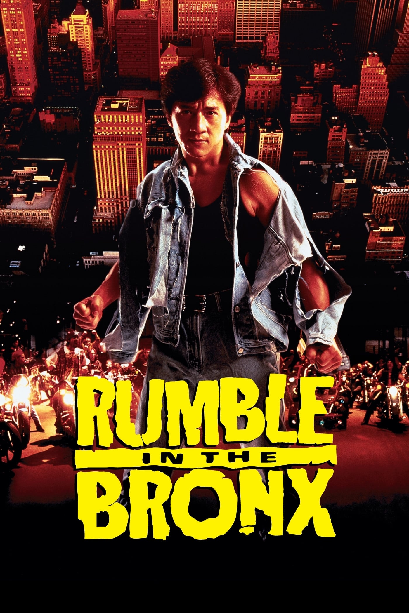 Poster for Rumble in the Bronx