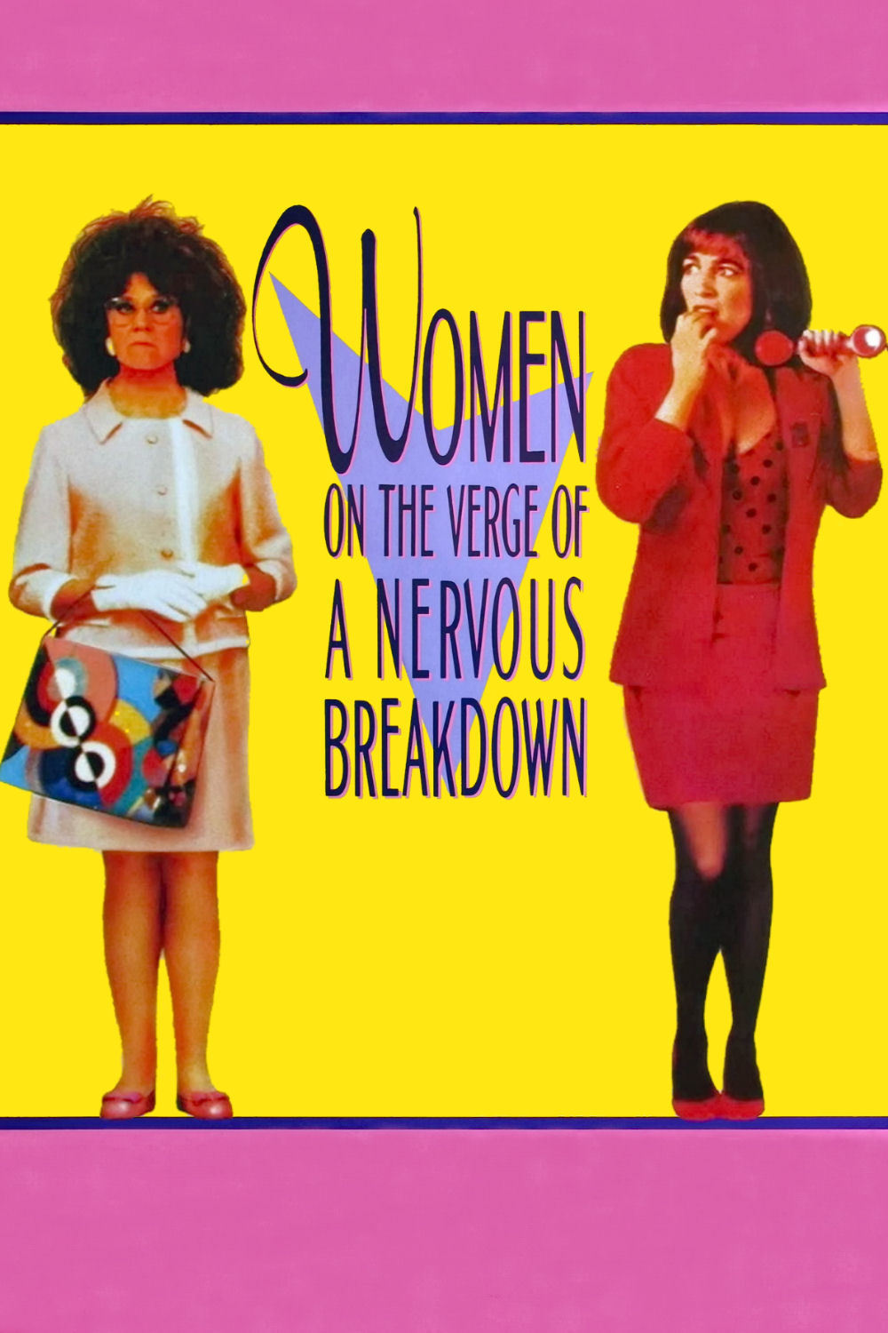 Poster for Women on the Verge of a Nervous Breakdown