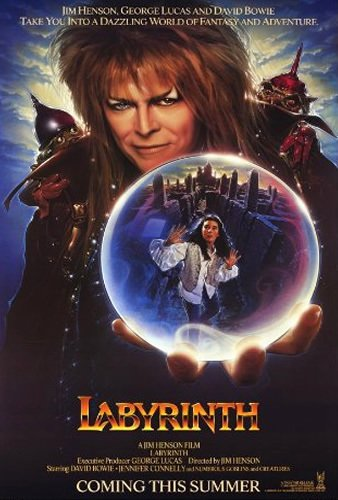 Poster for Labyrinth (Movie Night with Assemble)