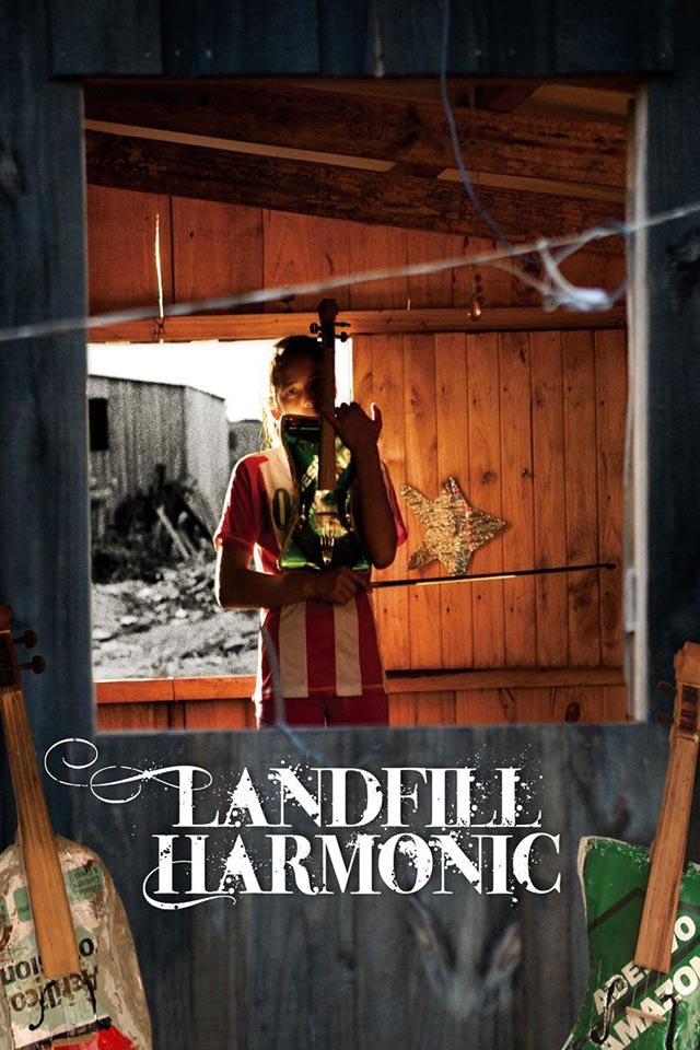 Poster for Landfill Harmonic (PICFF Closing Night at The Museum Lab)