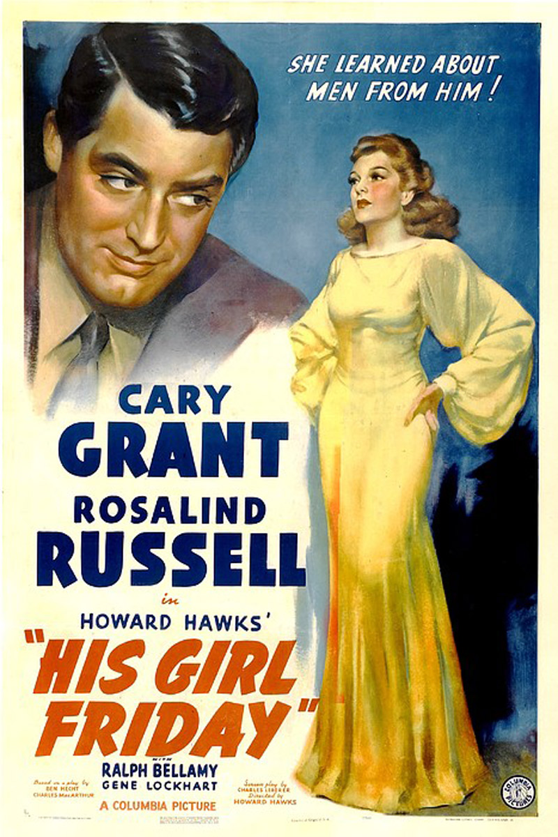 Poster for His Girl Friday